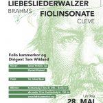 Brahms Liebeslieder plakat