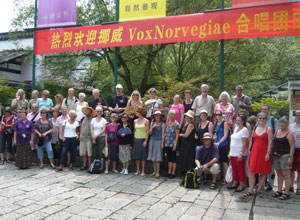 Vox Norvegiae i Kina