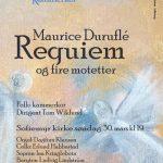 Maurice Duruflé Requiem og fire motetter