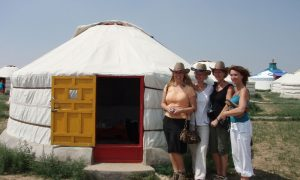 Jurt på de mongolske stepper