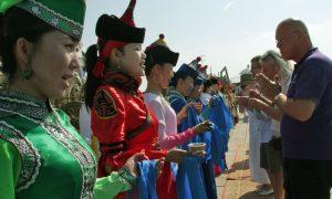 På de mongolske steppene