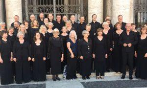 På vei til messe i Roma